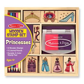 Melissa & Doug - Set drvenih maraka Princess