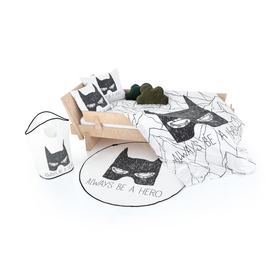 Gosp. Little Fox Batman Rug - Uvijek budi heroj, Mr. Little Fox