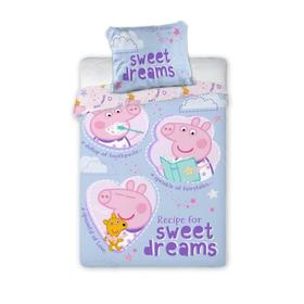 Dječja posteljina Sweet Dreams Piggy Peppy, Faro, Peppa pig